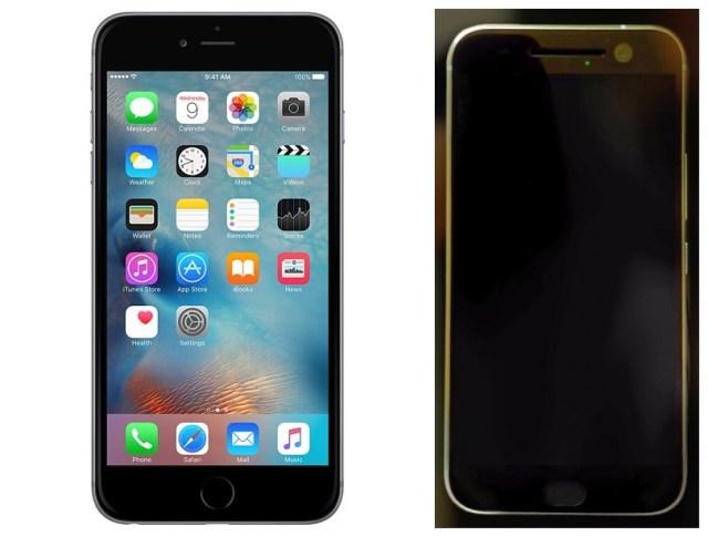 HTC One M10 vs iPhone 6