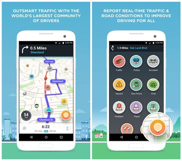 Waze for Android 5
