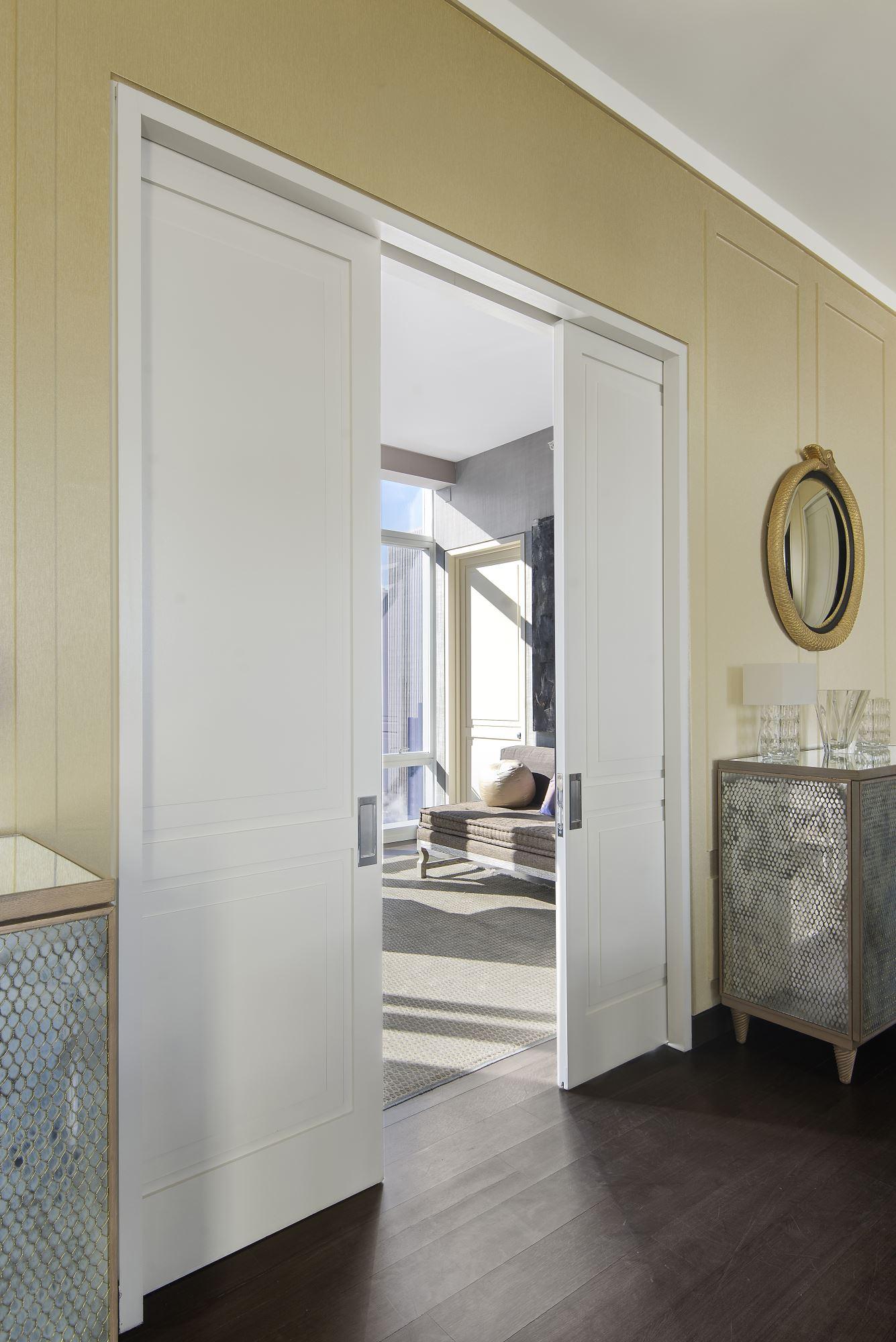 Circle Panel Interior Door