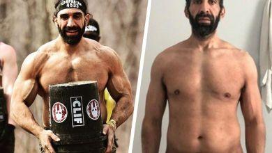 الامريكي احمد عياد الذي خسر 27 كيلوغرام