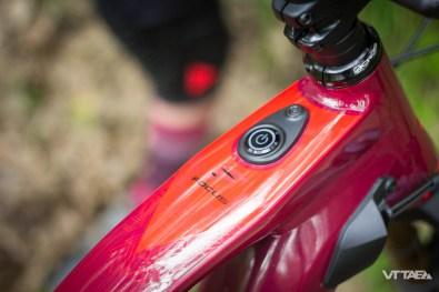 Sans la batterie externe, il suffit de presser - longuement - le bouton pour allumer le Focus SAM2.