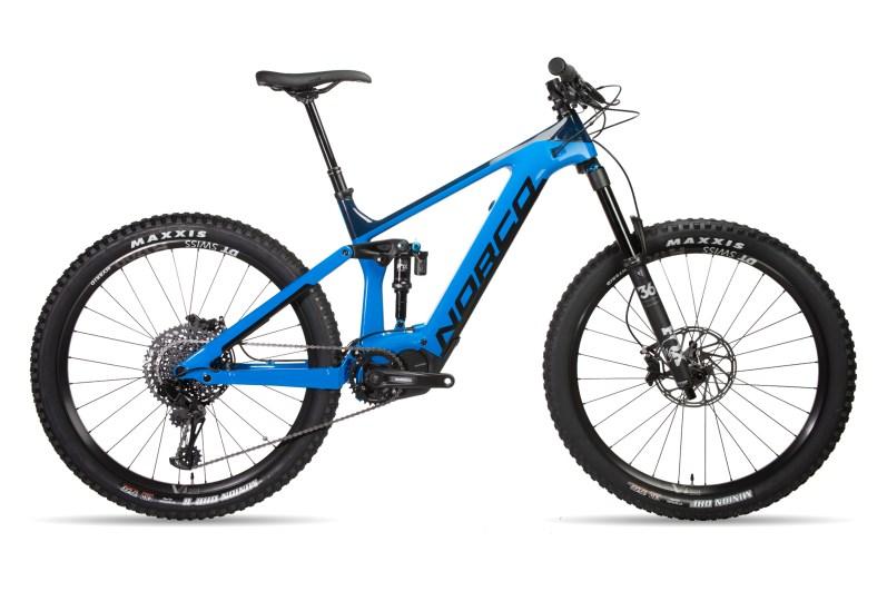 Sight C GX VLT 1 Blue : moteur Shimano E8000 avec batterie InTube 630 W; fourche Fox Performance 36 avec 160mm de débattement; roues DT Swiss H1700 Spline 30 Boost -7799 euros