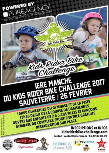 Rider Bike, première  kids rider 2017