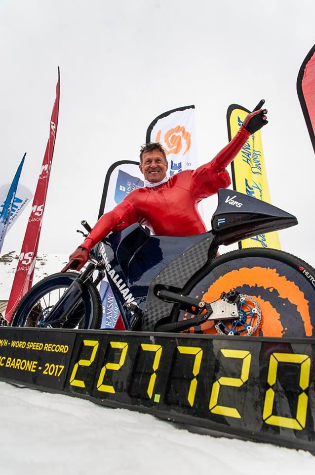record vitesse Eric barone
