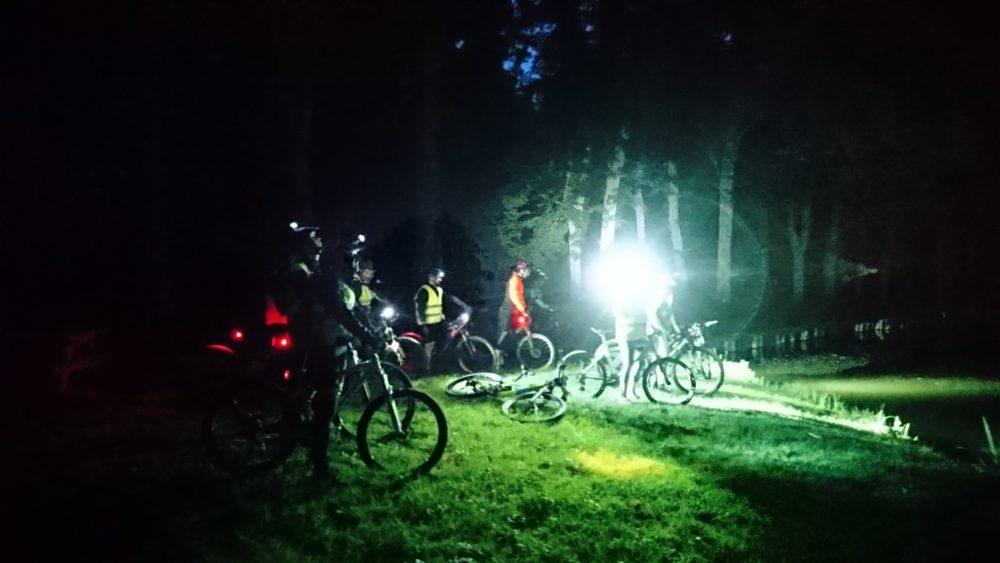 Randonnée VTT nocturne – ByNight – VTT COACH