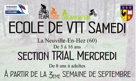Club VTT dans l'Oise -Ecole VTT Oise- Ecole de Vélo- A partir de 2 ans – VTT Coach