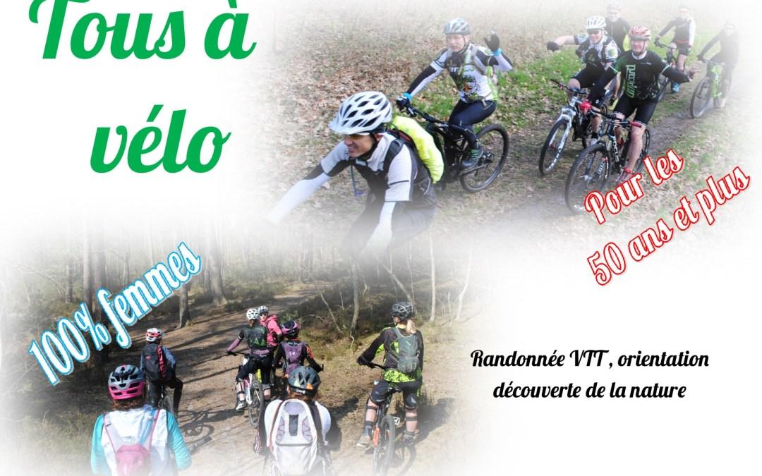Tous à Vélo Rentrée Sportive 100% femmes et + 55 ans