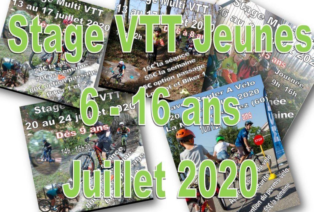 Stage VTT Jeunes – Juillet 2020 – VTT COACH