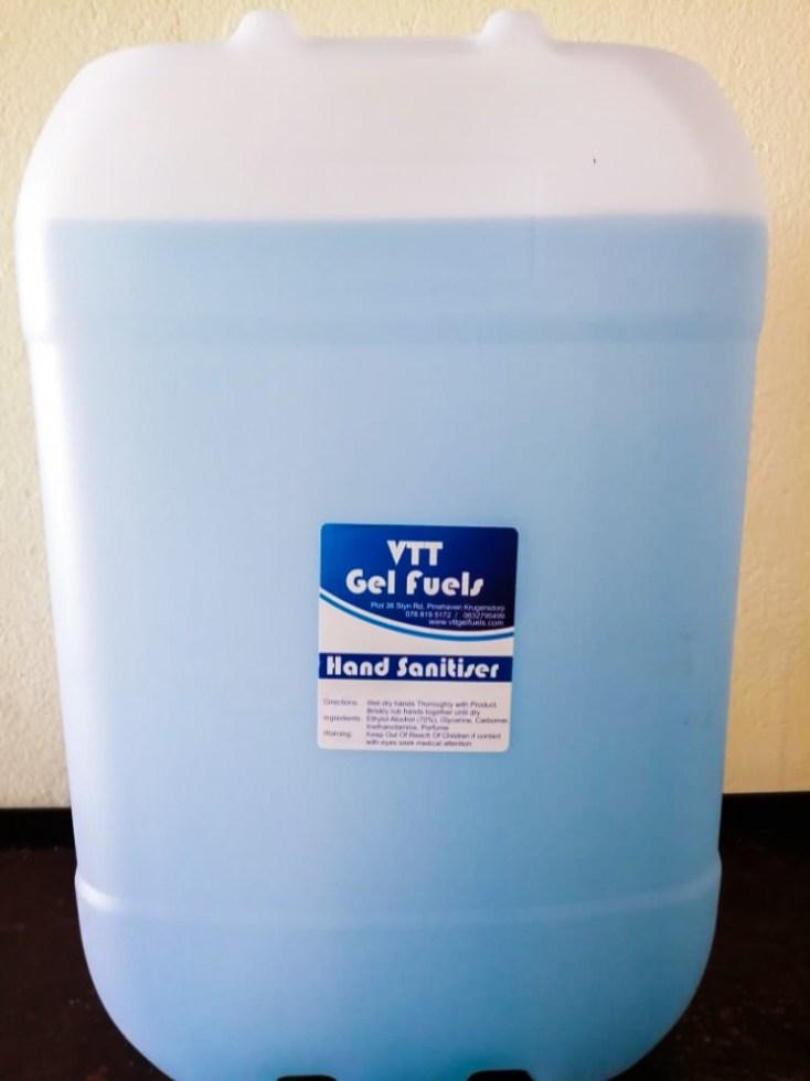 VTT Hand Sanitizer 25L
