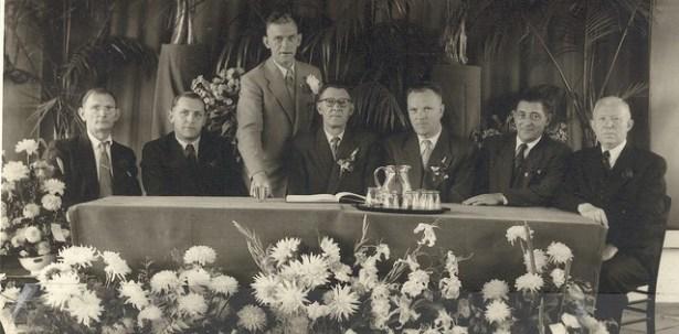 Bestuur 1954.