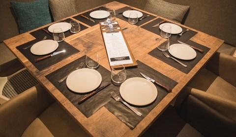 detall taula vucätica lleida restaurant