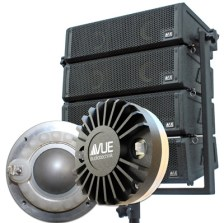 1-inch exit Beryllium driver developed for al-4 Subcompact Line Array System