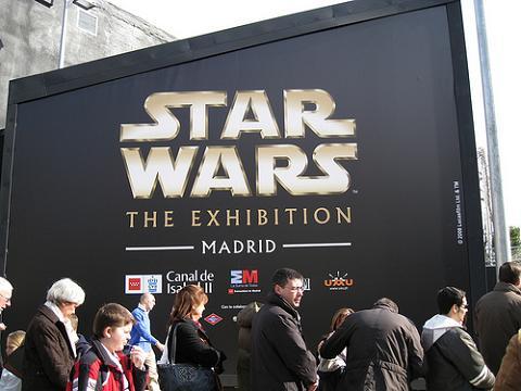 Resultado de imagen de exposicion star wars madrid