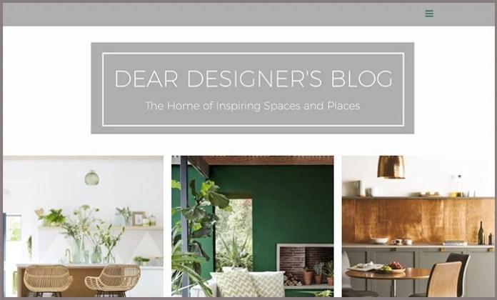 Dear Designer's Blog