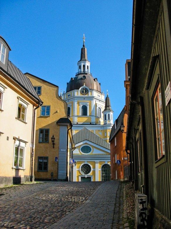 Calle en Södermalm. Foto depositphotos © sophysweden