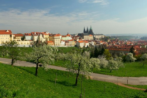 vista de Praga-conjunto del castillo de Praga. Imagen: ©depositphotos.com/frank11