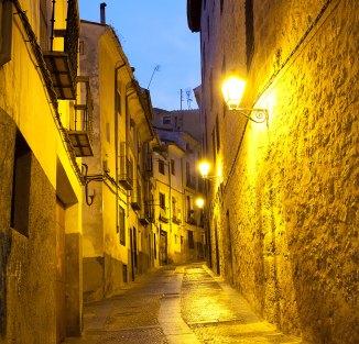 Calle en Cuenca. Imagen: copyright - depositphotos/antonel