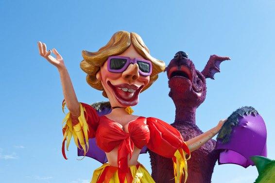 Carnaval de Niza . Foto: copyright: depositphotos/anitasstudio