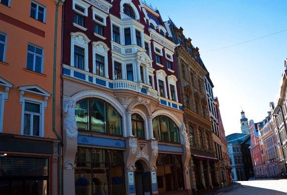 Casco antiguo de Riga, Letonia — Foto depositphotos ©mexrix