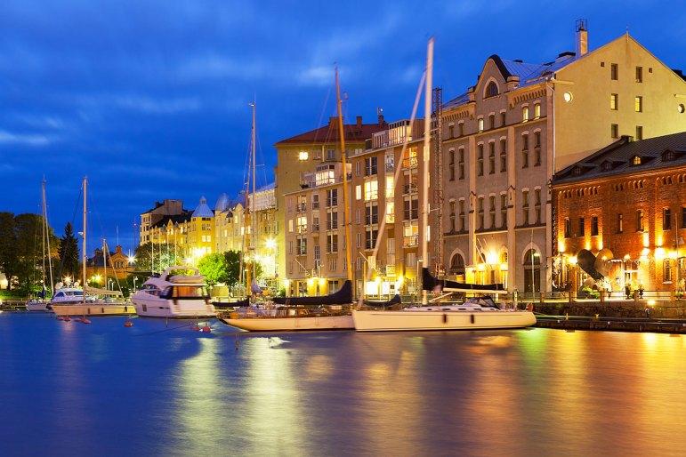 Ciudad vieja en Helsinki. Imagen: ©depositphotos.com/scanrail