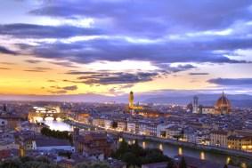 Amanecer en Florencia
