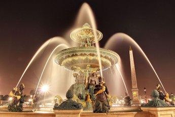Fontaine des Fleuves, Place Concorde por Pierre-Louis FERRER (CC BY-SA 3.0