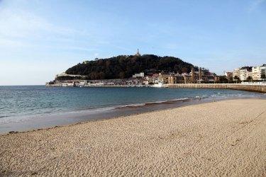 Playa de La Concha, San Sebastián.