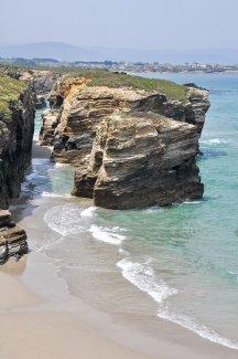 Playa de Las Catedrales, Ribadeo, Lugo.