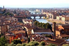 Florencia y el Rio Arno.