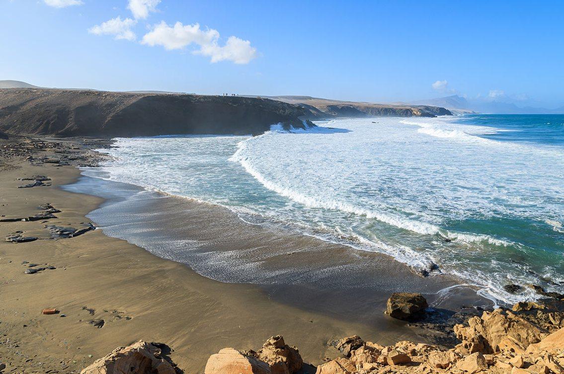 las playas en La Pared, Fuerteventura