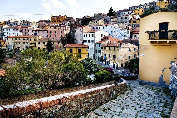 Rio nell'Elba, Isla d'Elba, Toscana. a 115 km de Livorno