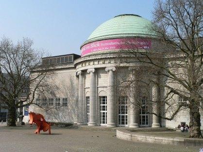 Kuppelsaal, edificio anexo del Kunsthalle, se incluye en la lista de Monumentos de Hamburgo. Imagen por Bernhard Luginbühl (CC BY-SA 3.0)