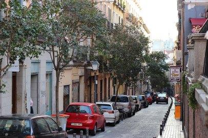 Barrio de Malasaña, Madrid .Angel Abril Ruiz - CC BY 2.0. Imagen original - Ningún cambio.
