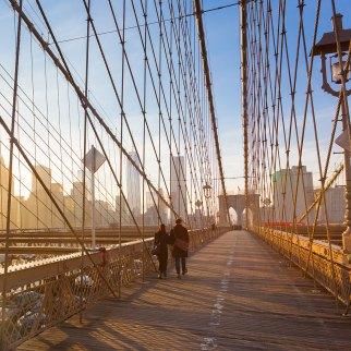 Puente de Brooklin, Nueva York.