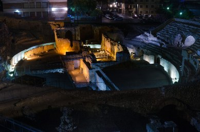 Anfiteatro de Tarraco. Anfiteatro romano. Tarragona