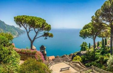 Jardines de Villa Rufolo, Ravello, Italia