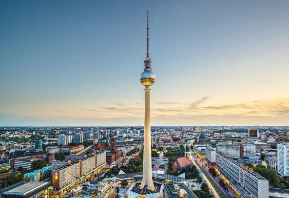 La Fernsehturm, Berlín