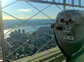 Vista desde el Empire State Building, Nueva York, EEUU.
