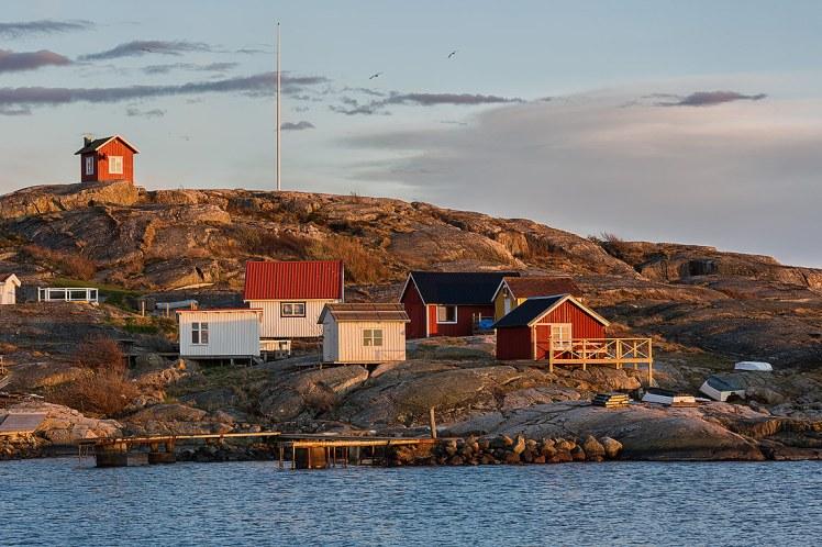 Isla en el archipiélago de Gotemburgo, Suecia.