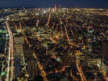 Vista desde el One World Trade Center.
