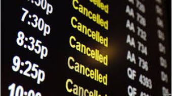cancelacion del vuelo