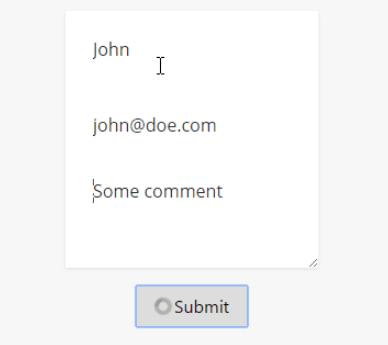 Vue js 2 Button Loader Component - Vue js Script