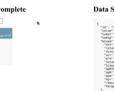 Autocomplete Component for Vue.Js 2