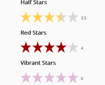 Star Rating Component For Vue 2