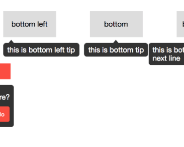 Easy Vue Tooltip Component