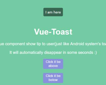 Vue-Toast