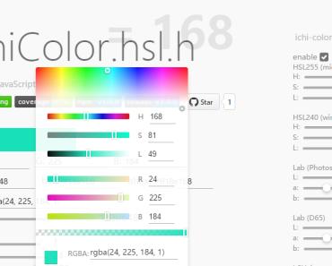 Full-featured Color Parser For Vue.js