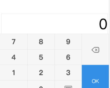 Numeric Keyboard For Vue.js