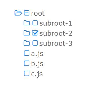 Checkable Folder Tree Component For Vue.js 2