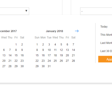 Easy Date Range Picker For Vue.js